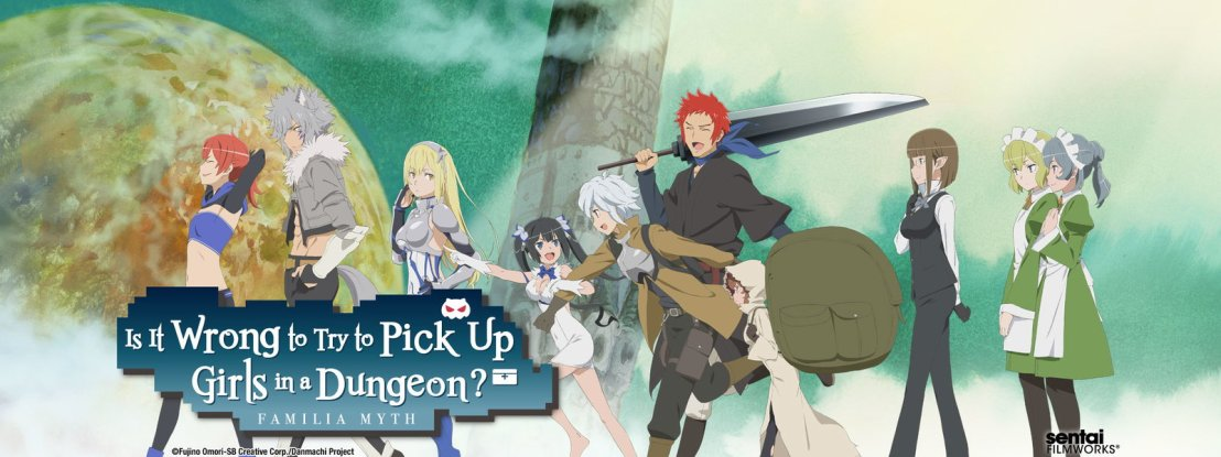 Is It Wrong to Try and Pick Up Girls in a Dungeon?  Not as far as I can tell.